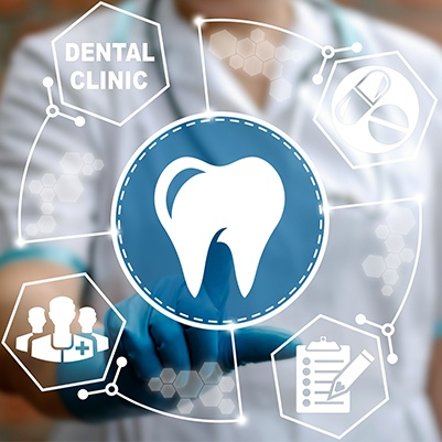 Animated dental insurance claims process